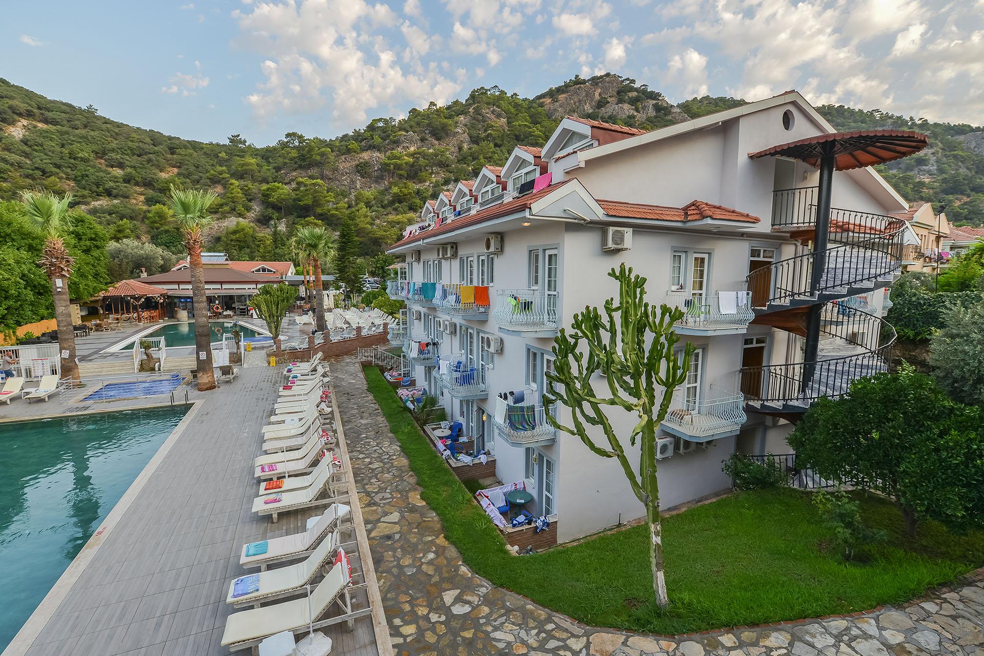 majestic hotel oludeniz beach fethiye Turkey