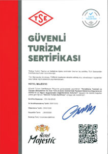 majestic hotel safe tourism certificate